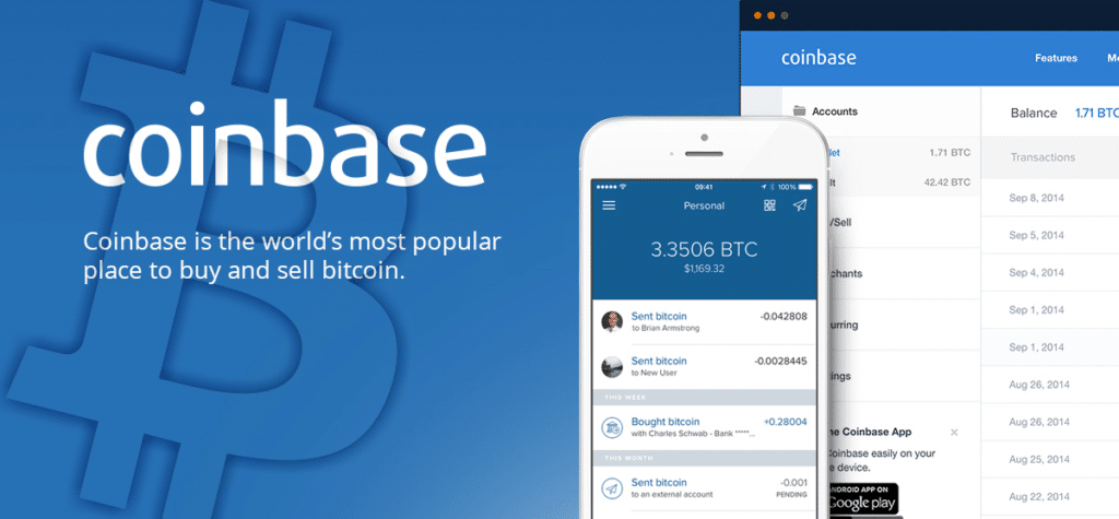 Buy Bitcoin with Coinbase