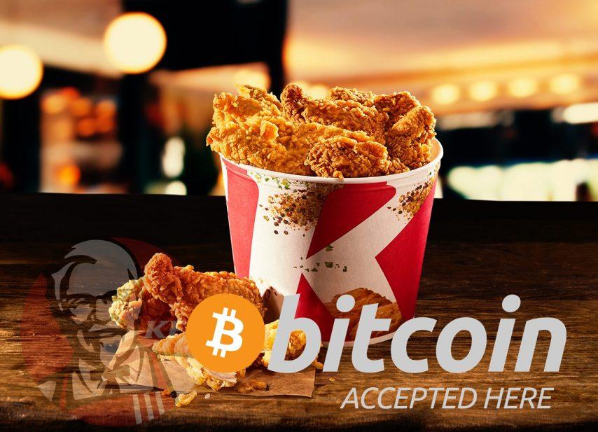 KFC Canada accepts Bitcoin