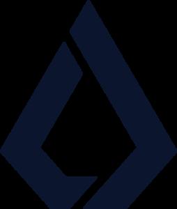 Lisk Symbol - Blue
