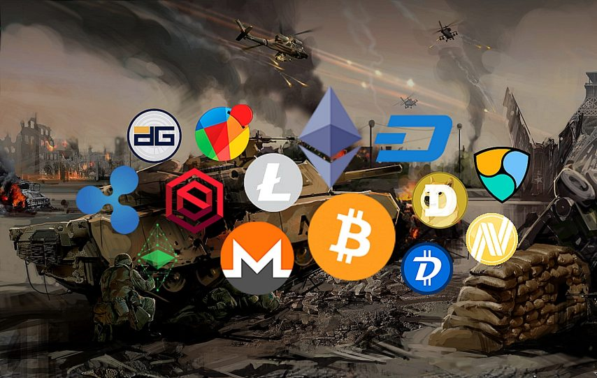 war bitcoin altcoin