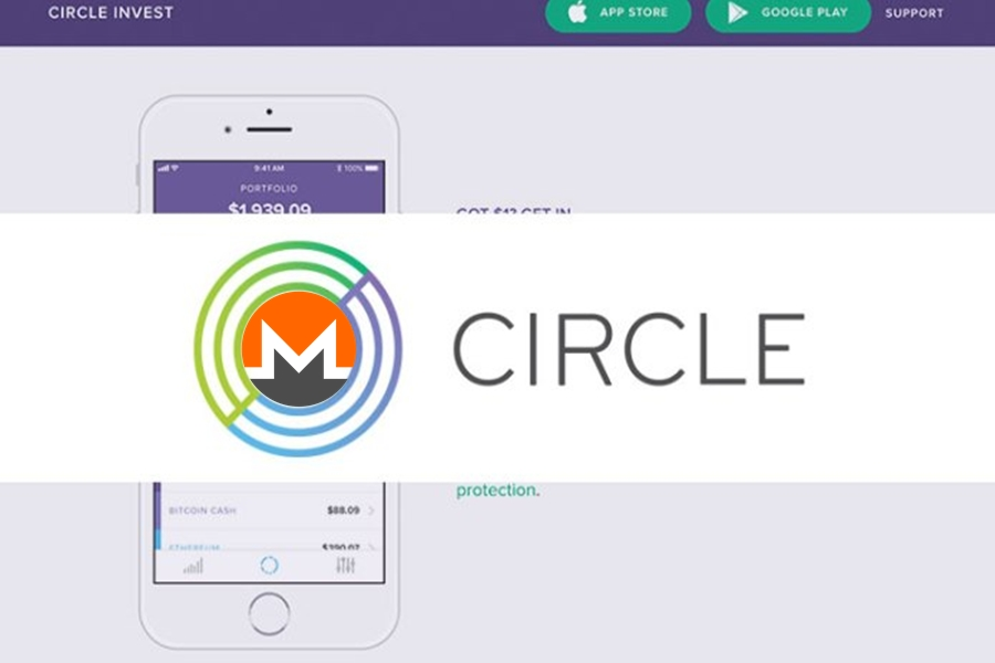 circle cryptocurrency app