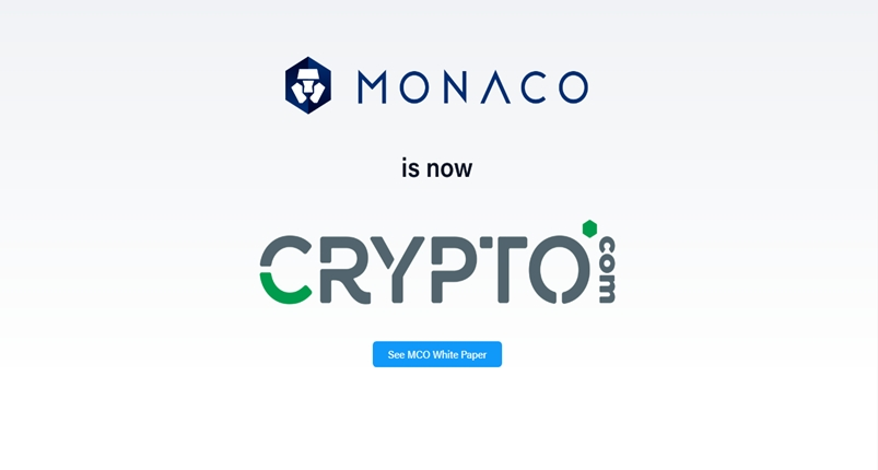 monaco visa cryptocurrency card