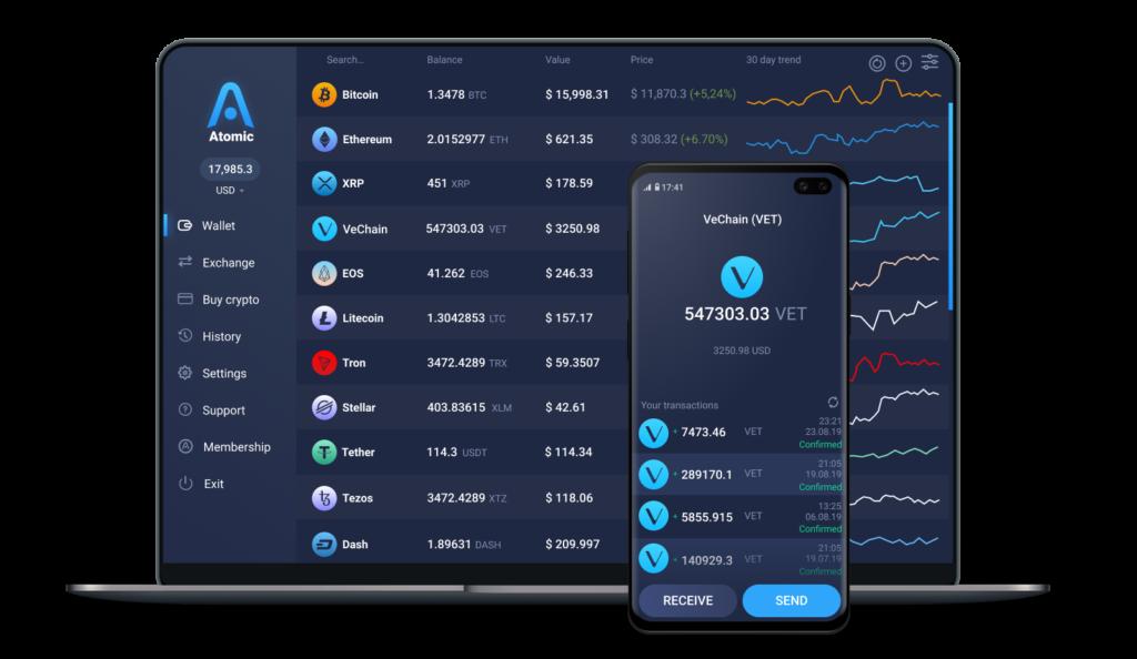 vechain_crypto_wallet