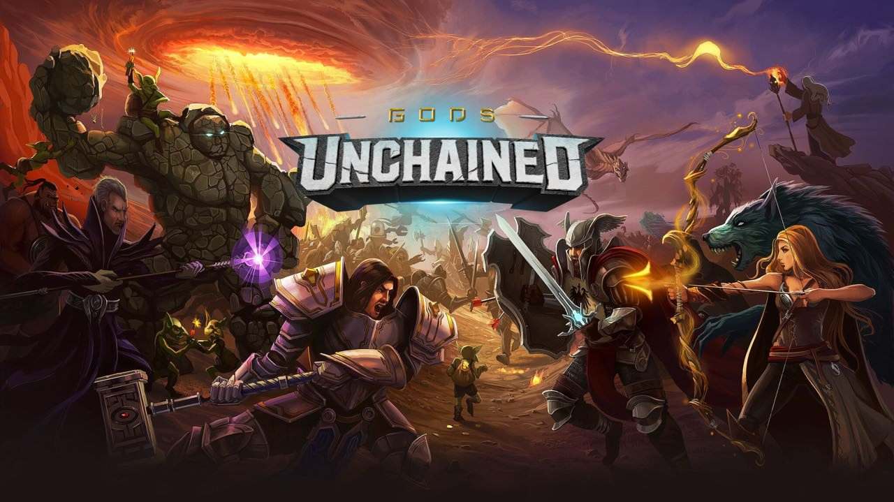 Image result for GodsUnchained Overview of blockchain-based games market trends in 2020