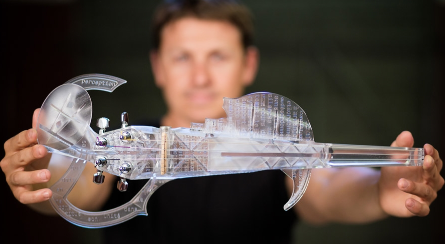 3D Printed Electric Violin