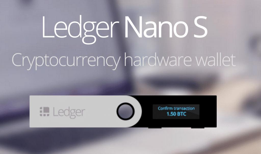 ledger nano s icx