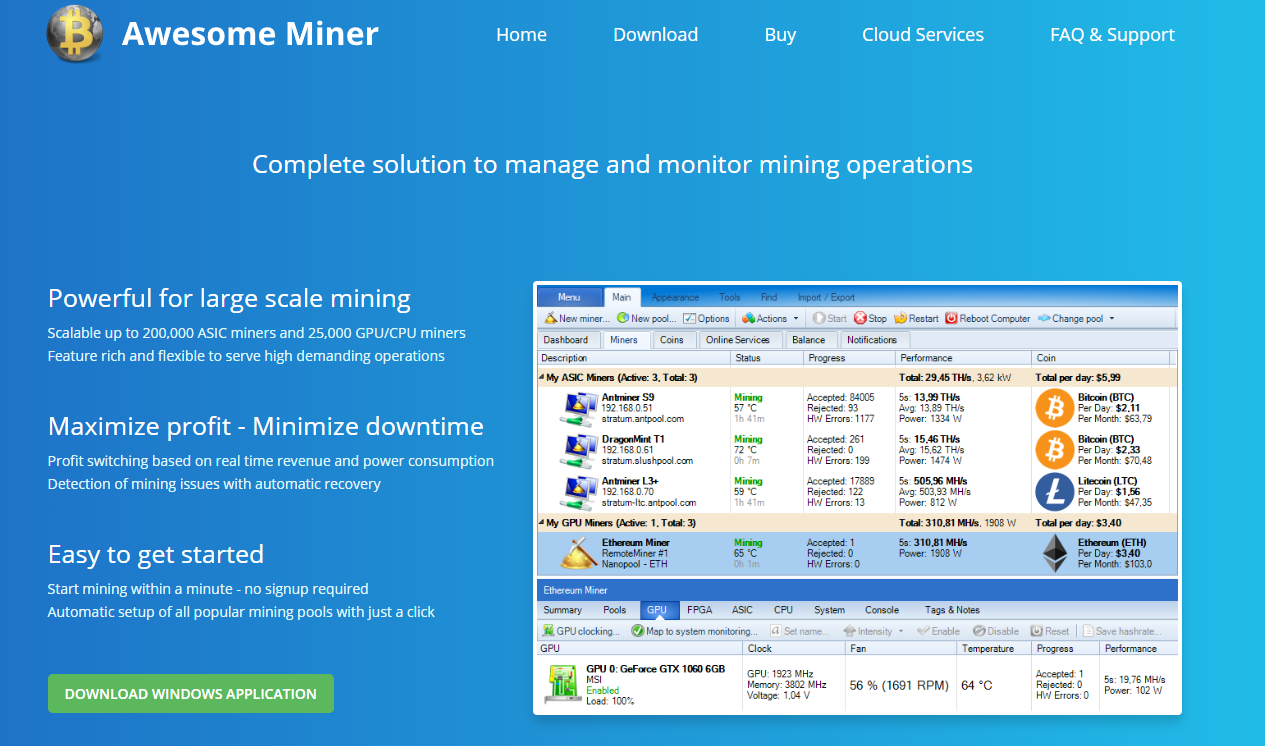 Awesome Miner