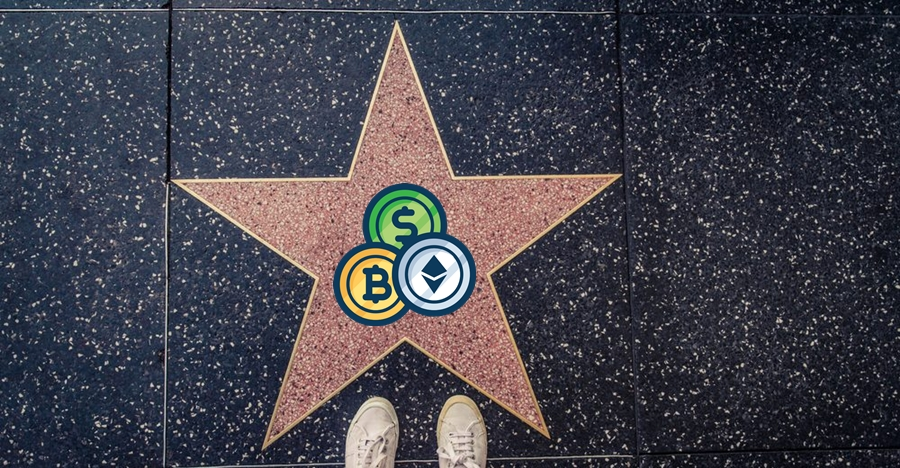 celebrities involved in cryptocurrency