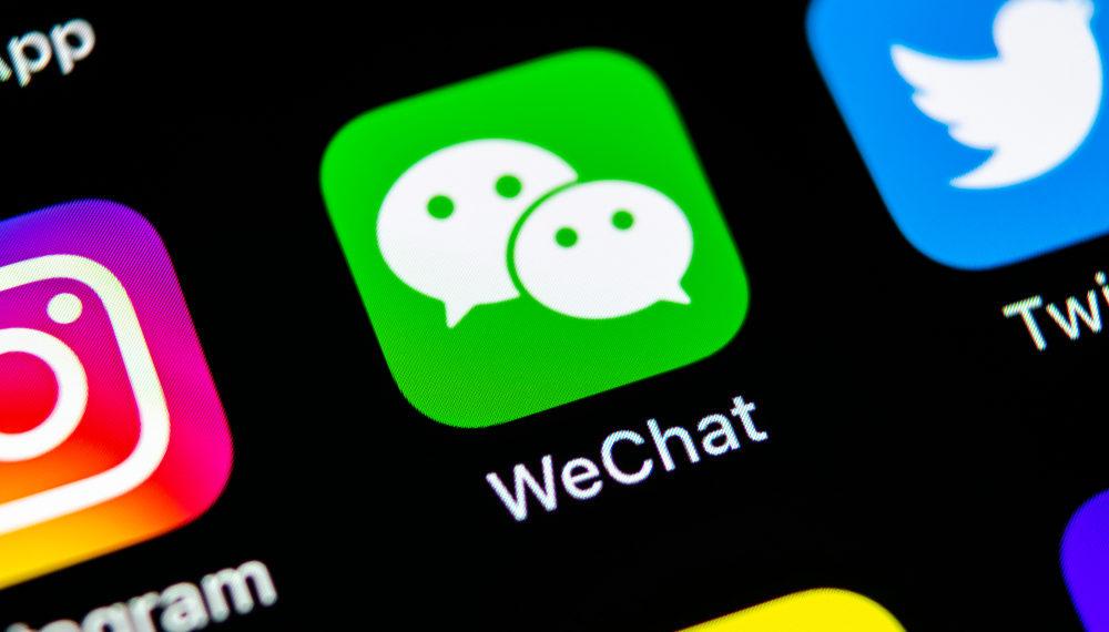 WeChat crypto