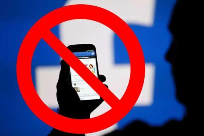 Facebook Banned