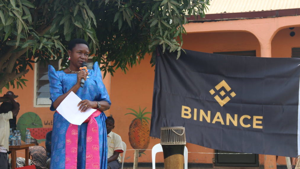 Binance charity