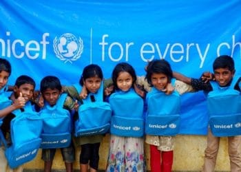 Unicef crypto donations