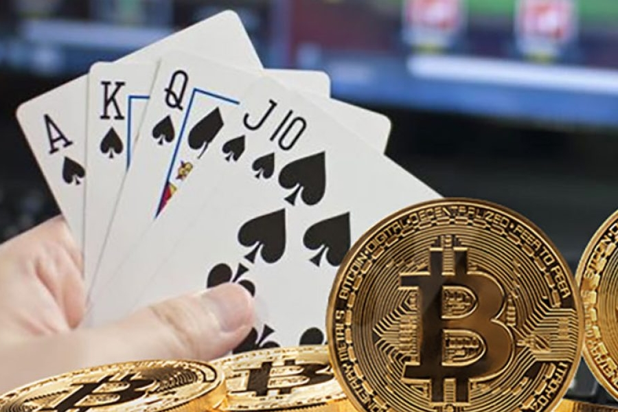 bitcoin poker sites
