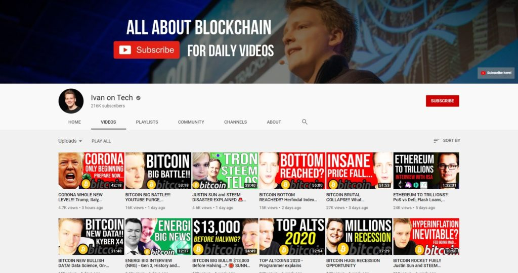 youtube day trading cryptocurrency