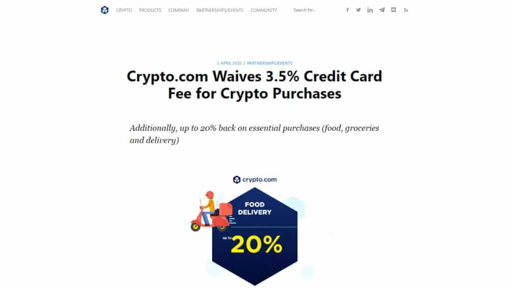 creditcard fee buying cryptocurrency