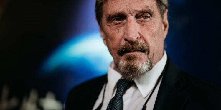 John McAfee Net Worth