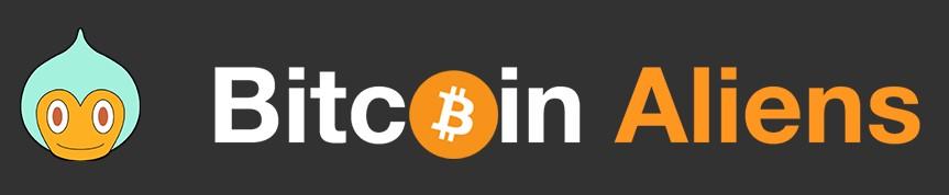 Logo Bitcoin Aliens png