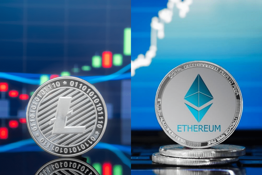 LItecoin and ethereum