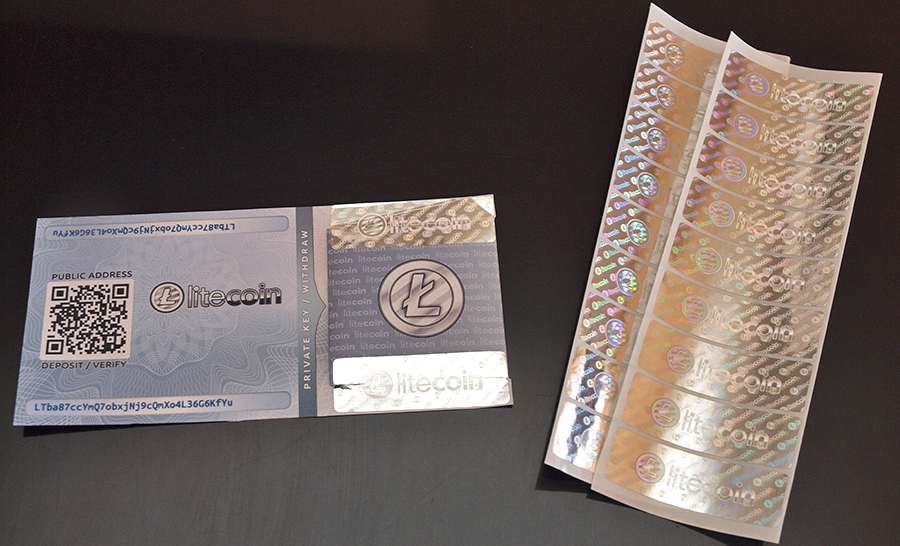 lietcoin paper wallet