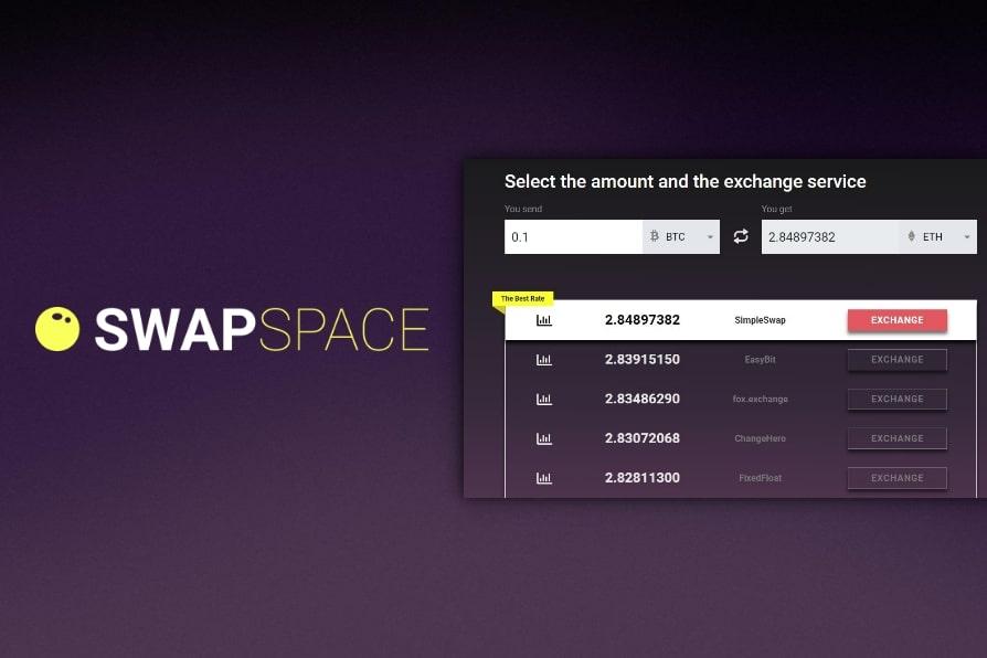 SwapSpace exchange aggregator