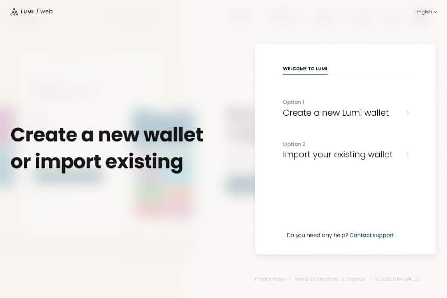 Lumi Wallet